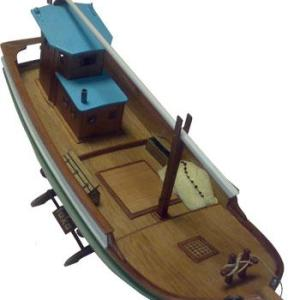 Turk Model Black Sea Fishing Boat