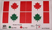 5700/08 Canadian Flag set