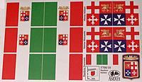 5700/10 Italian Naval Flag set