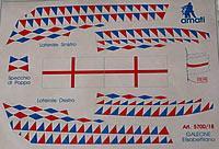 5700/18 Elizabethan Galeon Flag set