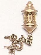 4338/03 Stern Lantern in Brass 30mm