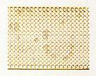 4390/02 Brass Wire Mesh Square Hole 24x150mm
