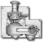 4862 Electric Windlass 27x20mm cast metal