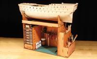 Wooden Model Ship Kit Deluxe Hobby Workshop