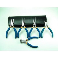 5- Piece Mini Plier Set & Zip Up Case PPL6000