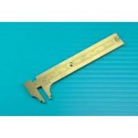 Brass Sliding Gauge (Standard/Metric) PGA1652