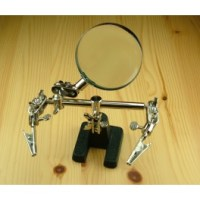 Helping Hand w/ Glass Magnifier PCL2228