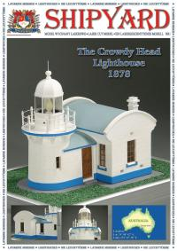 Crowdy Head Lighthouse 1878 1:72 - Shipyard ML001 - Laser Cut Model