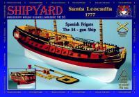 Spanish Frigate Santa Leocadia