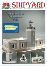 Lighthouse Los Morrillos 1882 1:87 (H0) - Shipyard ML031 - Laser Cut Model