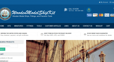 Welcome to WoodenModelShipKit's New Website