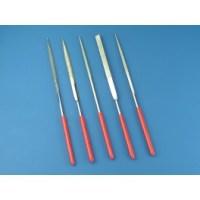 Set of 5 Diamond Needle Files PFL6002