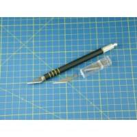 Soft-Grip Hobby/Craft Knife + (5) #11 Blades PKN2304