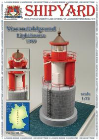 Vierendehlgrund Lighthouse 1909 1:72 - Shipyard ML091 - Laser Cut Model