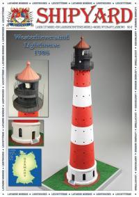 Westerheversand Lighthouse 1906 1:72 - Shipyard ML084 - Laser Cut Model
