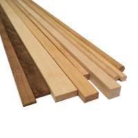 AM2410/04 Walnut Wood Strips 4mm x 4mm (10)