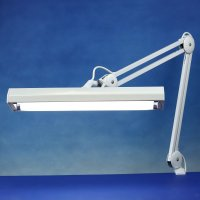 Lightcraft Twin Tube Professional Task Lamp