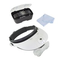 Pro LED Headband Magnifier Kit