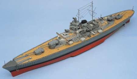 BISMARCK Battleship and Fittings Set
