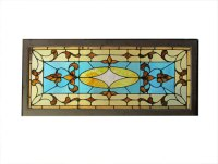 Decorating  Stained Glass Transom Windows - Inspiring ...