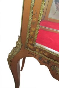 Robert Mitchell Curio Cabinet - Wooden Nickel Antiques