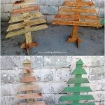 Diy Pallet Christmas Tree Ideas Wooden Pallet Ideas