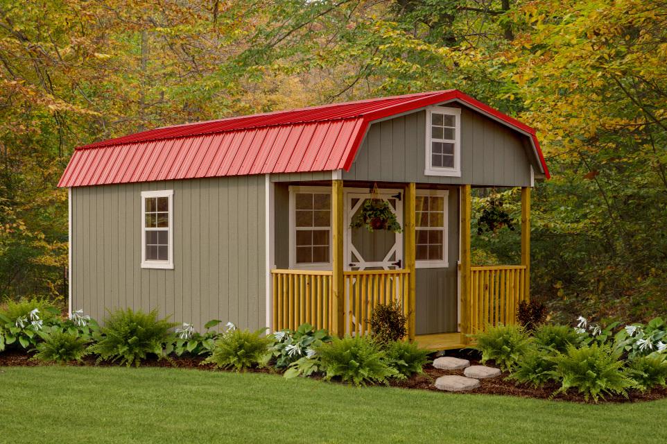 LakeSide Cabins & Sheds - Kampfire Shed