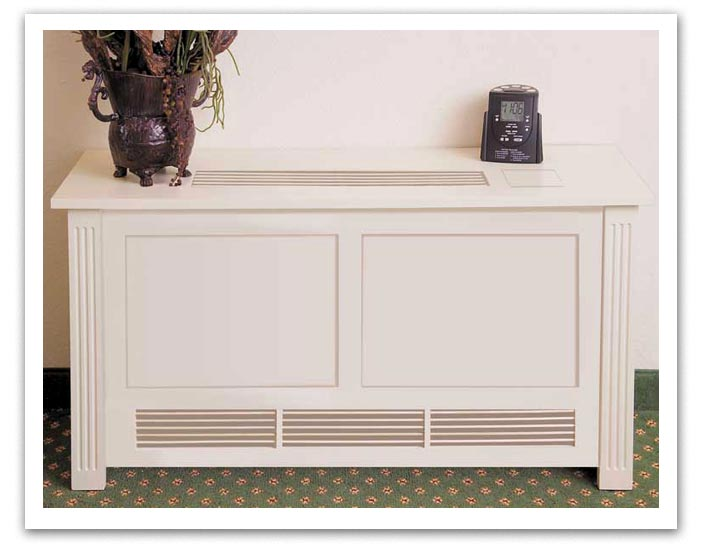 The Wooden Radiator Cabinet Company  Radiator PTAC Fan