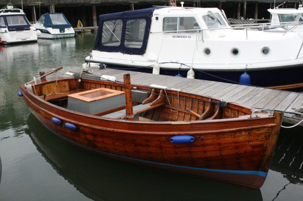 Harbour Wooden Motor Launch For Sale