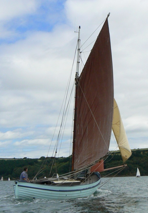 Swedish Gaff Cutter Wooden Sailing Yacht For Sale