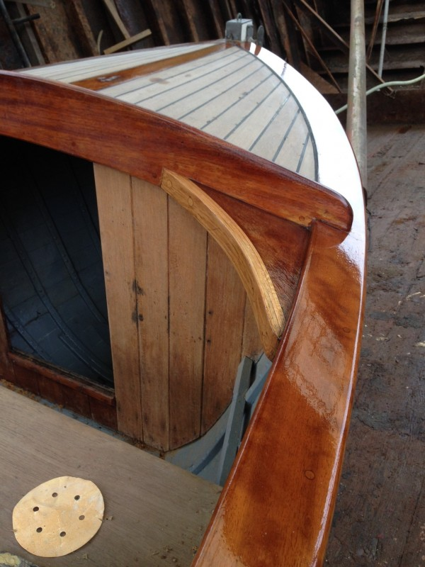 Classic Wooden Motor Launch For Sale