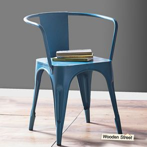 steel chair buyers in india folding teak chairs with arms metal buy online at lowest price