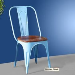 Steel Chair Buyers In India Bar Height Chairs With Arms Metal Buy Online At Lowest Price Dining