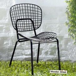 Steel Chair Buyers In India Wooden Kitchen Chairs With Arms Metal Buy Online At Lowest Price