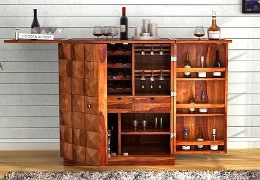 Bar Cabinet Online  Buy Wooden Bar Cabinets Online at Best Price