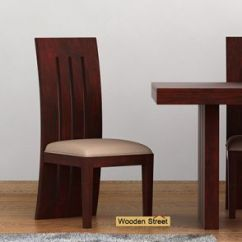 Wooden Restaurant Chairs With Arms Evac Chair 600h Dining Buy Solid Wood Online In India