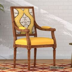 Wooden Chairs With Arms India Childs Plastic Table And Arm Buy Chair Online In At Low Price Dining Design