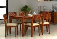 6 Seater Dining Table: Buy Six Seater Dining Table Online ...
