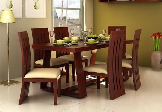 845eb9c2db 6 Seater Dining Table Online Six Seater Dining Table Set