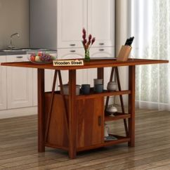 Kitchen Console Ikea Installation Cost Island Buy Solid Wood Online In India Price