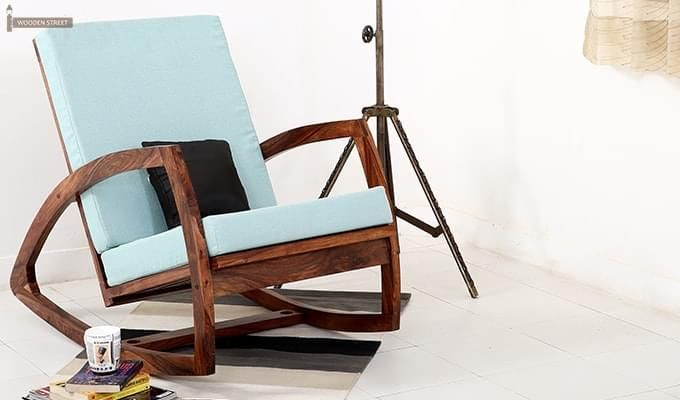 floor rocking chair india stool black gold buy ferano easy teak finish online in wooden street 1