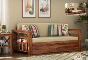 old sofa in chennai small with chaise uk cum bed buy best online india discount upto 55 storage teak finish