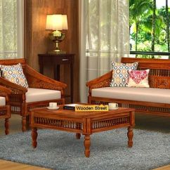 Wooden Sofa Designs For Living Room Daybed Frame Set Buy Online In India Upto 55 Off