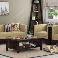 Wooden Sofa Living Room Modern White Set Buy Online In India Upto 55 Off Simple Designs