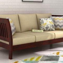 Simple Wooden Sofa Set Online Tiendas Sofas Baratos Madrid 3 Seater : Best Three In India ...