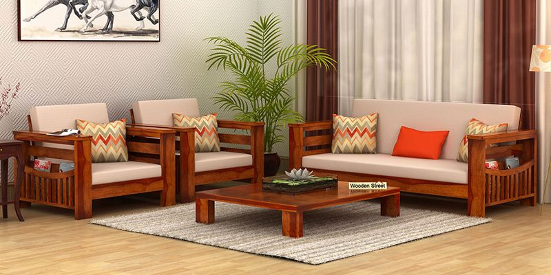 wooden sofa living room pictures of decorating ideas set buy online in india upto 55 off teak wood images