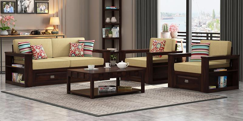 wooden sofa living room decorated set buy online in india upto 55 off under 10000