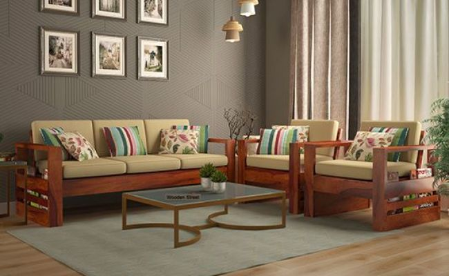 Wooden Sofa Set Best Wooden Sofa Set Online In India Upto