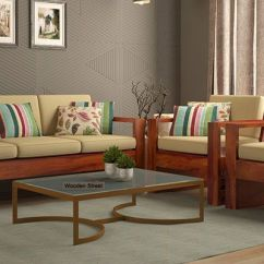 Corner Sofa Set Online India Microfiber Vs Bonded Leather Wooden Set: Buy In Upto ...