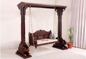 swing chair with stand bangalore the ugly tupelo ms buy wooden chairs online in india low price swings for home